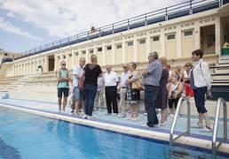 Visite groupes à la piscine Art déco de Bruay-La-Buissière © Brigitte Baudesson
