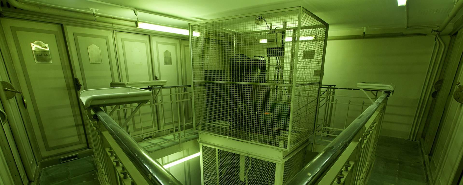 Entrez dans la salle des coffres © Marc Domage