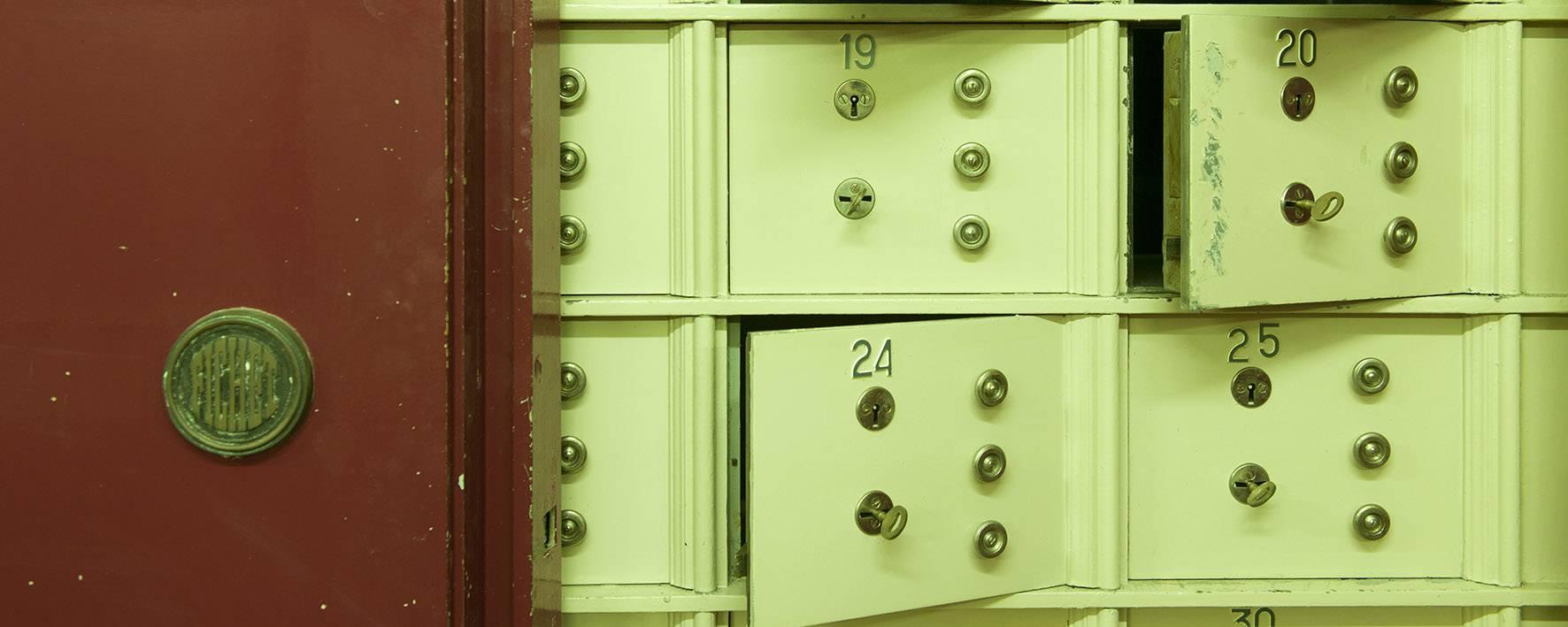 La salle des coffres © Marc Domage