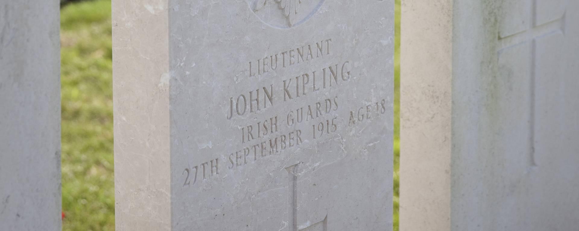 Tombe de John Kipling - Haines © Brigitte Baudesson