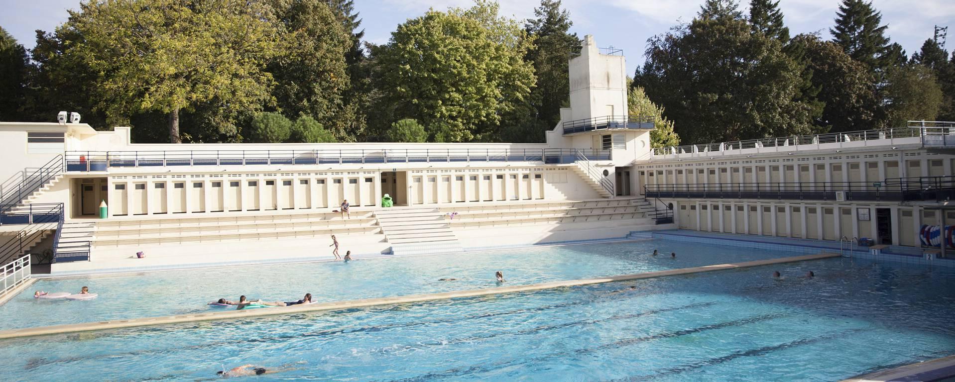 La piscine Art déco de Bruay-La-Buissière © Brigitte Baudesson