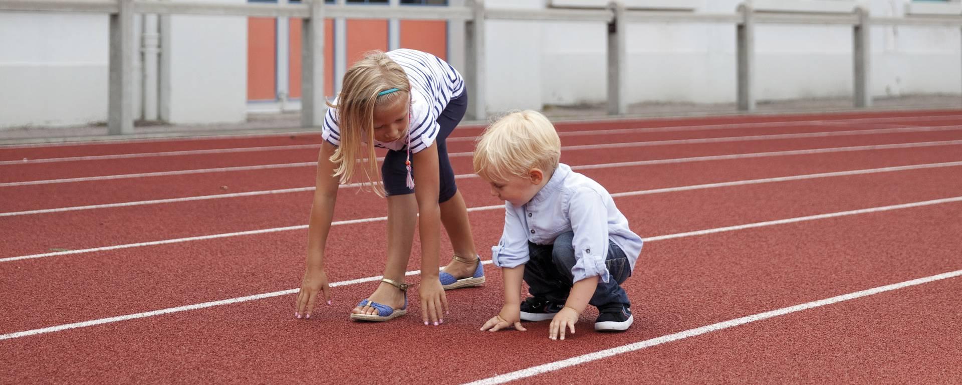 La piste d'athlétisme Bruay-La-Buissière © Brigitte Baudesson