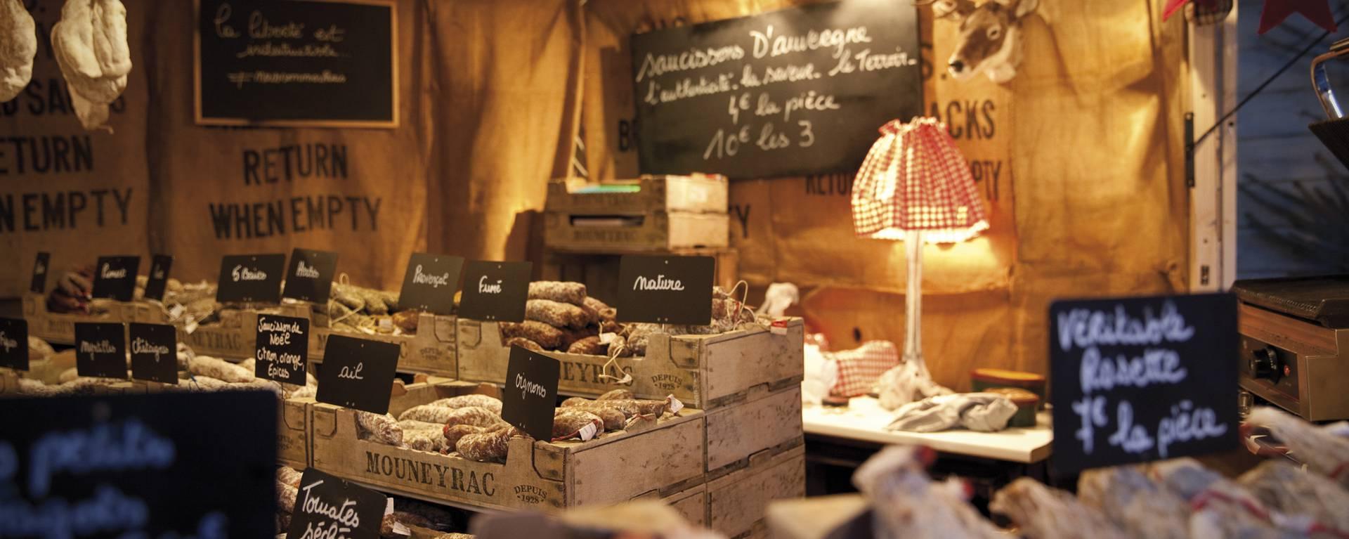 Des produits pour les fêtes © Brigitte Baudesson