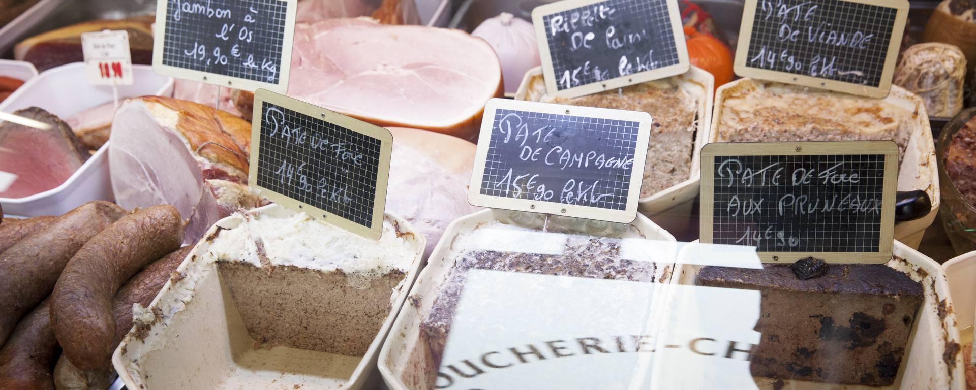 Boucherie charcuterie Leblanc à Burbure