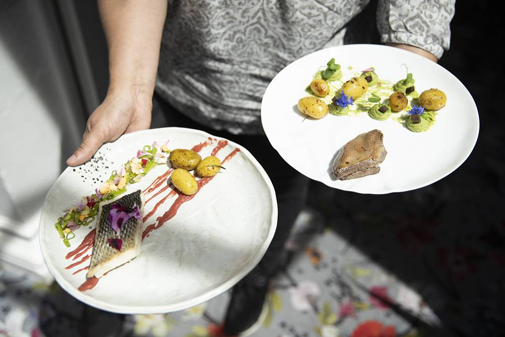Restaurant Leplat à Béthune © Brigitte Baudesson