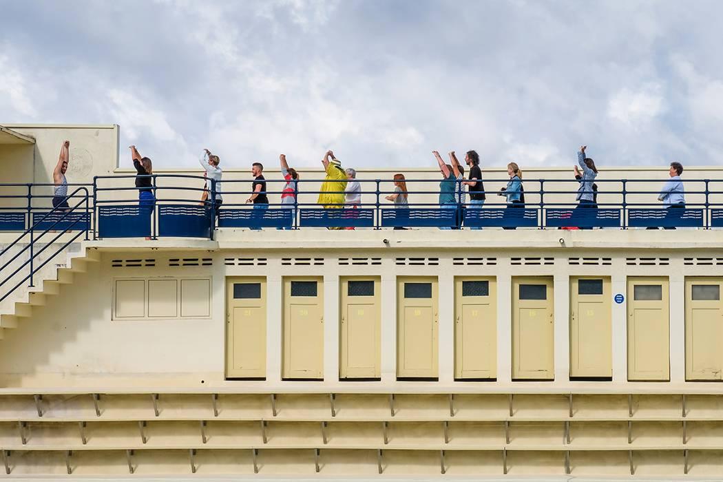 Gym Tonic avec Honoré à la piscine Art déco de Bruay-La-Buissière