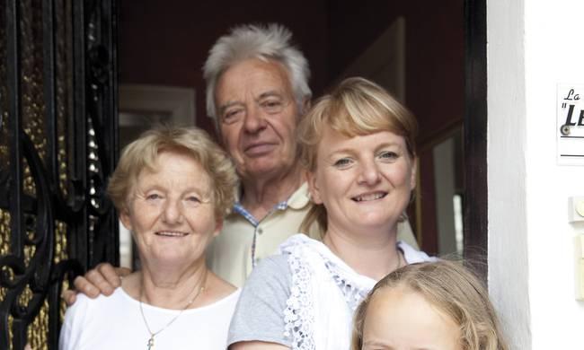 Christiane, André & Hélène