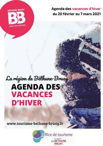 Agenda des vacances d'hiver 2021