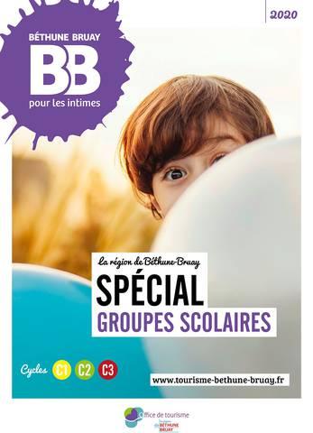 Brochure groupes scolaires Béthune Bruay 2020