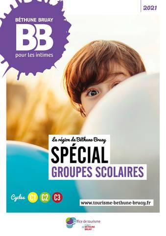 Brochure groupes scolaires Béthune Bruay 2021
