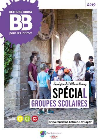 Brochure groupes scolaires Béthune Bruay 2019