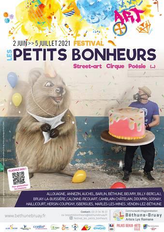 Festival Les Petits Bonheurs à Béthune Bruay