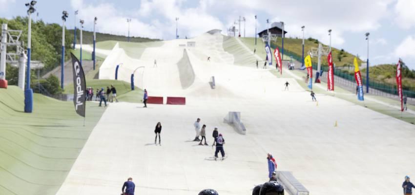 La piste de ski Loisinord à Noeux-les-Mines