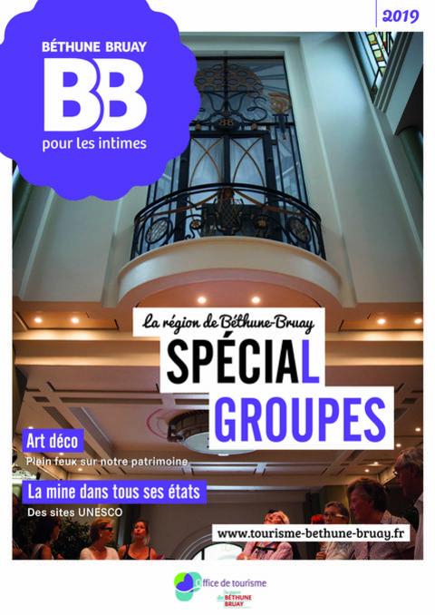 Brochure groupes adultes 2019 de la région de Béthune Bruay
