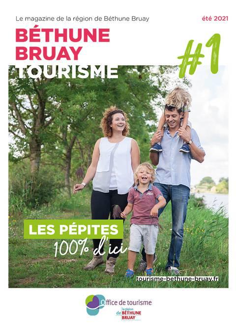 Magazine touristique de Béthune Bruay Été 2021