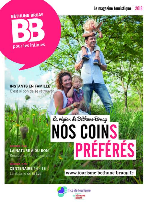 Magazine touristique de Béthune-Bruay 2018