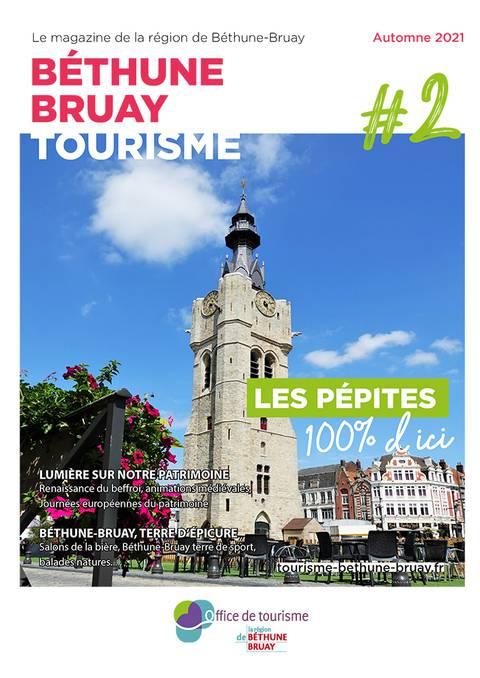 Magazine touristique de Béthune Bruay Automne 2021