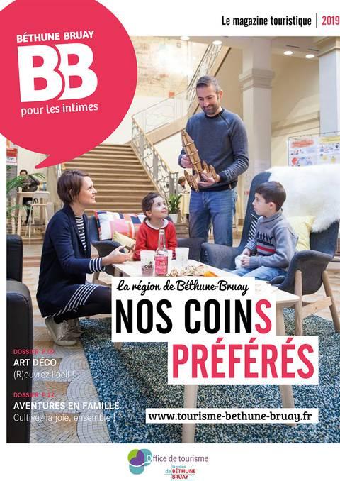 Magazine touristique de Béthune Bruay 2019