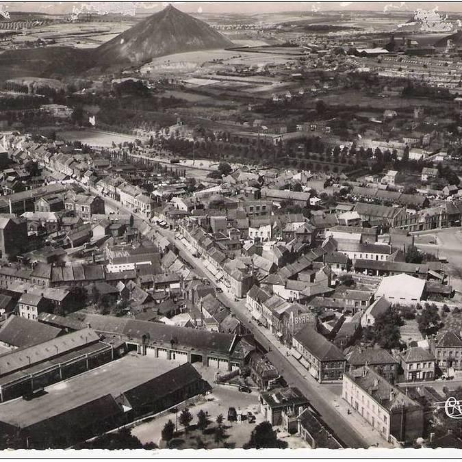 Vue aérienne de Bruay-La-Buissière - Fosse 3