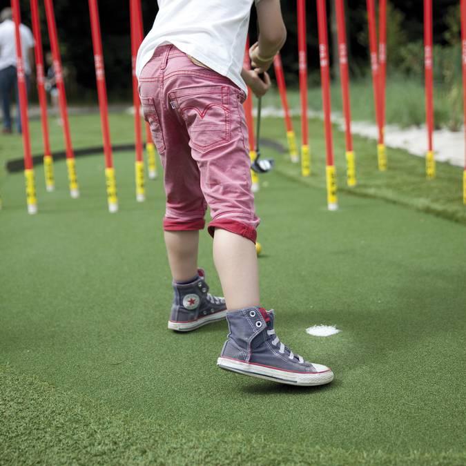 Mini-golf 18 trous © Brigitte Baudesson