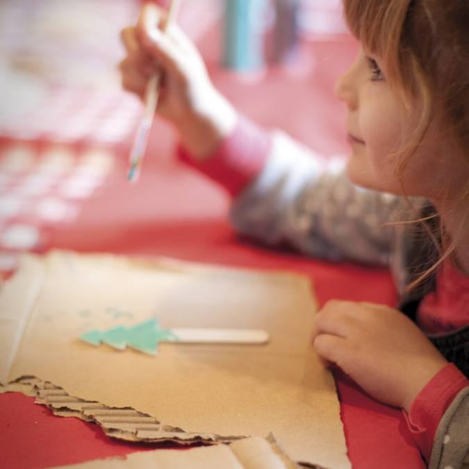 Les ateliers pour enfants © Brigitte Baudesson