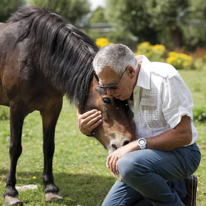 Partagez des bons moments avec les animaux habitant la Ferme des Saules © Brigitte Baudesson