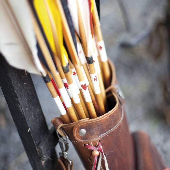 Initiez-vous au tir à l'arc à la Ferme des Saules © Brigitte Baudesson