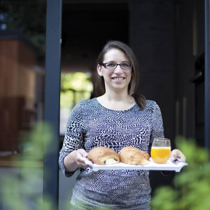 Le petit-déjeuner maison de Sophie aux Béthunoises © Brigitte Baudesson