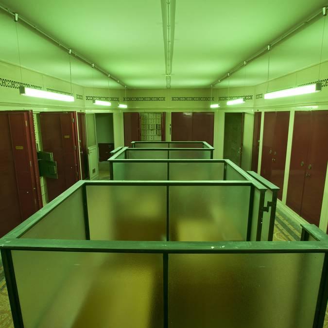 Salle des coffres de Labanque Béthune © Marc Domage