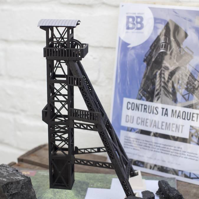 Maquette Chevalement Vieux 2 Marles les Mines - 15€