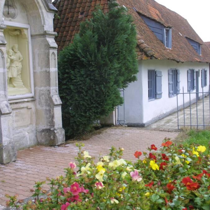 La Maison de Saint Benoit Labre à Amettes