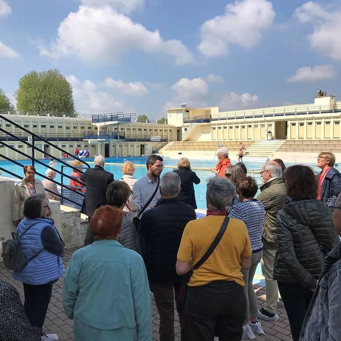 La piscine Art déco à Bruay-La-Buissière